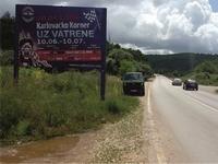 Billboard 400x300 cm