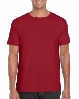 T-SHIRT MEN GILDAN GI64000 - CARDINAL RED
