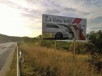 Billboard 504x238 cm
